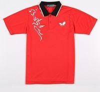 badminton coat - NEW Butterfly men s table tennis clothing Badminton T shirt Summer running Jersey Ping pong Wear Sports coat X10306