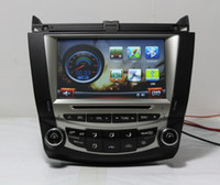 2 DIN airs spanish - IN STOCK quot Car DVD Player For Honda Accord Single zone air condition Stereo Audio Video GPS Radio Free map