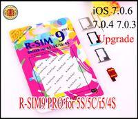 Unlocking Card apple iphone upgrade - Genuine R SIM RSIM9 R SIM9 Pro SIM Card Unlock newnest upgrade iOS for iphone S G S C GSM CDMA WCDMA