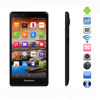 Wholesale 6 inch Lenovo A880 Android Phone MTK6582M Quad Core GHz GB ROM MP Camera WCDMA GPS