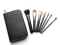 Wholesale black high quality Professional Makeup Cosmetic Brush set Kit Case Travel Makeup Brushes Set High Quality H1078A