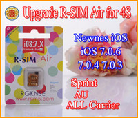 Genuine R- SIM Air R SIM Air Unlock iPhone 4S iOS 7. 0. 6 7. 0. 4...