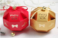Favor Boxes small gift boxes - Creative Personality Small Gift Boxes Paper Color Joyful Origami Fitting Wedding Candy Bags K0509