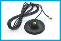 10pcs lot WIFI 3G GSM Antenna Magnet Base magnetic stand RP-...