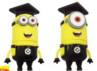 Wholesale 2014 Despicable me Minions Styles USB Memory Stick Flash Pen Drive thumb Drive Real GB GB GB GB GB