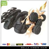 Wholesale Cheapest Pieces Unprocessed Indian Virgin Human Hair Weaves Hair Extensions Body Wave Wavy Natural Black Color