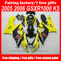 Custom motorcycle ABS fairing body kits for Suzuki GSX R1000...