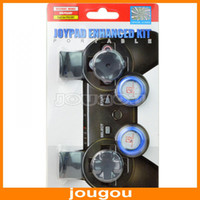 Wholesale 6 In Joypad Enhanced Kit For Play Station PS3 Controller Direction Pad Gel Taps Dual Triggers