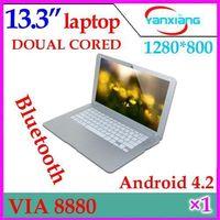 Wholesale DHL inch VIA Dual core GHz laptop thin bluetooth HDMI netbook YX MID