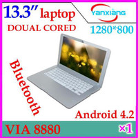Wholesale DHL inch VIA WM8880 Dual core GHz laptop thin bluetooth HDMI netbook YX MID