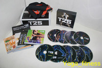 Cheap T25 Focus MIB Home Body Exercise Fitness Video Factory Supply High Definition Hottest Shaun T DVD Workout Body Building Slimming