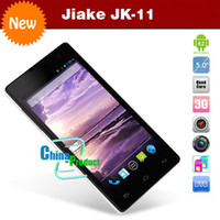 Jiake 5.0 Android JIAKE JK11 5inch QHD Screen Quad Core MTK6582 Android 4.2 Dual Camera Bluetooth 1GB Magyar Greek Unlocked 3G Smart Mobile Cell Phone 002039