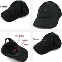 Wholesale 720P HD Spy hidden Mini DV camera DVR Video flat Cap hat Surveillance Gadgets