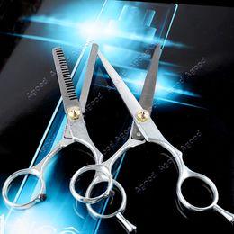 Wholesale 1 set Hairdressing Hair Cut Scissors Shears Barber Salon Set Thinning Set Cutting Thinning Shear