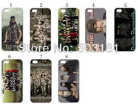 Wholesale hot new design duck dynasty hard case back cover for iPhone g s