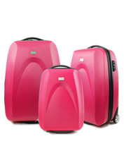 Wholesale S H Vivid Red Hardside carry on Luggage
