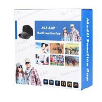 Wholesale 2014 x480 New Spy hidden Mini DV DVR Video Baseball Cap hat Surveillance Gadgets