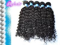 Wholesale Factory Supply high quality A Grade Kinky Curly Malaysian Hair Human hair DHL