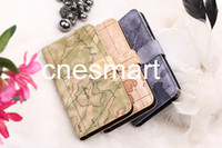 100pcs Fast delivery+ Fedex free, Map design PU leather Case C...