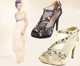 scarpe 2015 scarpe moda per donna con le scarpe partito tacco alto peep toe vestono pattini a cristallo scarpe da sposa nude # 273