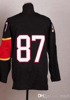 Wholesale 2014 Sochi Winter Olympics Jerseys Canada Men s Sidney Crosby Red White Black Ice Hockey Jerseys Mix Order