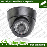 Wholesale DC12V IR Dome CCTV Camera CMOS Sensor TVL with IR CUT Filter Good Night vision