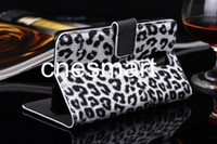 Leopard design PU leather Case Cover for Samsung Galaxy S5 I...