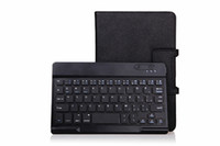 Wholesale Removable Wireless Bluetooth keyboard with PU Leather Stand Case For Dell Venue8 amp Venue8 Pro