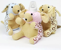 baby food order - Sample Order Newborn Feeding Products Baby Accessories Nursing Deer Milk Bottles Keep Warm Bag Cute Cartoon Animal Model Drop Set L544
