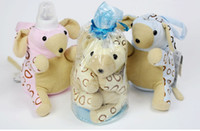 Wholesale Newborn Feeding Products Baby Accessories Nursing Bottle Keep Warm Bag Cute Cartoon Animal Model Colors L544