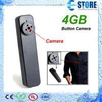 Cheap Fashion Hot Button Camera Hidden pinhole camera Mini DV DVR Recorder 4GB,spy camera,Free Shipping