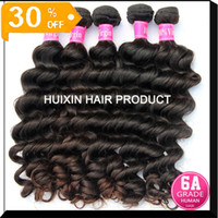Wholesale Best selling A Virgin Malaysian hair extension human hair weft Natural wave off bundle A