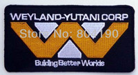 better irons - ALIEN ALIENS Weyland Yutani quot Better Worlds quot Movie Embroidered LOGO Iron On Patch Goth Punk Rockabilly Custom patch available