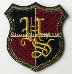 Wholesale Harry Potter HOGWARTS SCHOOL Uniform Emblem Embroidered Robe Iron On Patch rock retro applique dropship