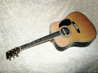 Wholesale Classical Acoustic Dreadnought Guitar Acoustic guitar Acoustic Electric Guitar Fishman Natural spruceTop AAA