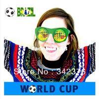 Wholesale Brazil s World Cup soccer shipping supplies sports glasses souvenir fans supplies brazuca