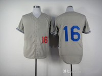 Baseball Men Short Dodger #16 Andre Ethier Road Gray Jerseys 2014 Hot Sales Men's Cheap Stitched Baseball Jerseys High Quality Brand Baseball Uniforms