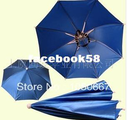 Wholesale World Cup Hat Type of Umbrella Soccer Fans Umbrella Cap Accepted Logo Printing
