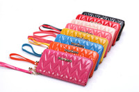 Wholesale Brand New Korean fashion lady bag embroidered bright leather hand bag can multicolor mixed lady purse handbag