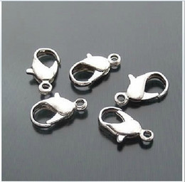 20PCS lot,strong Necklace Parts,316L Stainless Steel 13mm Lobster Clasps,