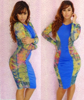 Hot Women's Blue Cocktail Dresses Backless Fantasy Party Fas...