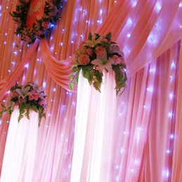 Wedding Decorations 300 LED light 3m*3m Curtain Lights Christmas romantic Wedding lighting Flash (L101)