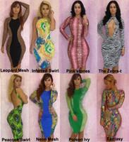 Sexy Women's Bohemian Party Dresses Stretchy Bodycon Fashion...