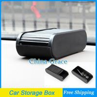 Pocket Holder Plastic  Car Storage Box Plastic Pocket Telescopic Dash Coins Case Holder Container Free Shipping