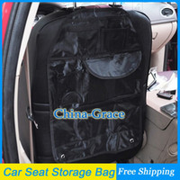 back seat storage bag - Multi Car Back Seat Storage Bag Auto Storage Pocket Black