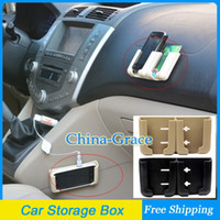 Tarjeta móvil del coche cuadro titular para el teléfono celular GPS, Plástico coches Accesorios Almacenamiento Envío Gratis
