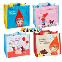 Wholesale NEW cute little girl Leisure canvas lunch bag Pocket Lunch Box Case Handbag
