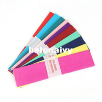 Wholesale latest DTY Children s hand colored Handmake colored paper Origami Color paper crepe paper ten colors child toys