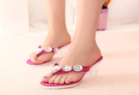 Wholesale Best selling Casual women s shoes Han edition female sandals The summer beach shoes