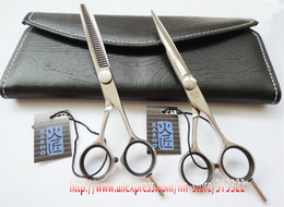 Wholesale quot KASHO quot Master Series Set JP440C Stainless Steel Professional quot Shear quot T Thinner Hair Salon Cutting Scissors Set